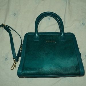 Vera Bradley Authentic Leather Handbag Purse